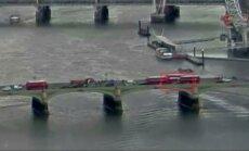 Paviešintas teroristinio išpuolio ant Londono Vestminsterio tilto vaizdo įrašas