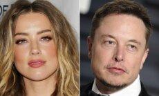 Amber Heard ir Elonas Muskas