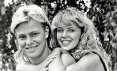 Kylie Minogue ir Jasonas Donovanas. 1985-1988 m.