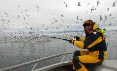 Nijolė Narmontaitė žvejyboje