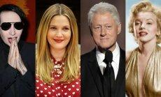 Marilynas Mansonas, Drew Barrymore, Billas Clintonas, Marilyn Monroe