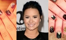 Demi Lovato nagai. AFP/Scanpix ir Instagram.com nuotraukos