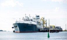 Klaipėda LNG terminal Independence, a floating LNG storage and regasification unit