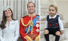 Princas George ir tėvai