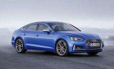 Atnaujintas Audi S5 Sportback