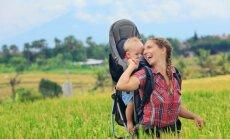 Keliavimas su kūdikiu: ką reikia žinoti, kad kelionė neapkarstų?