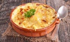 Nuostabus šviežių bulvių plokštainis