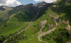Kaukazo kalnai Gruzijos pusėje