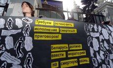 Baltarusijos žmogaus teisių organizacijos ragina atsisakyti mirties bausmės