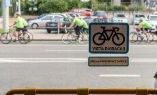 Vilniuje startavo velobusas