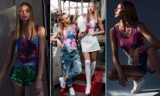 Godos Alijevos glaustinukių kolekcijos reklaminiu veidu tapo modelis Karolina Toleikytė