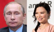 Vladimiras Putinas ir Wendi Deng