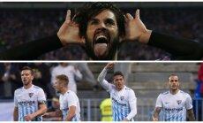 Isco ir Malaga futbolininkai / Foto: Reuters/AP/Scanpix