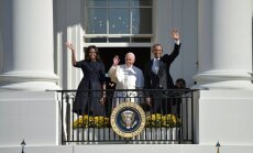 Popiežius Pranciškus, Barackas Obama, Michele Obama
