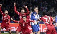 """Bundesliga"", ""Bayern"" puolėjas R. Lewandowskis"