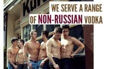Gėjų barai uždraudžia rusišką degtinę