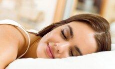 mergina, miegas, pagalvė