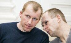 Marijanas Taraškevičius (kairėje) ir Vincentas Mačiulaitis