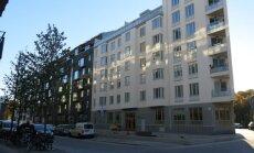 Naujų namų kvartalas Stokholme