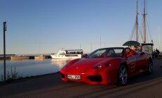 Siūlo Nidoje pasivažinėti Ferrari 360 Spider