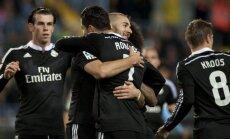 Karimas Benzema dėkoja Cristiano Ronaldo už rezultatyvų perdavimą