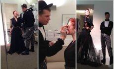 Erica Jennings matuojasi sukneles Eurovizijai