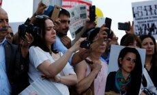 Demonstracija Turkijoje