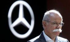 Daimler AG vadovas Dieteris Zetsche