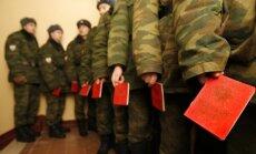 Rusijos kariai balsuoja