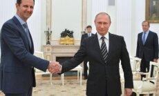 Basharas al Assadas, Vladimiras Putinas
