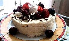Šaldytas morengų tortas