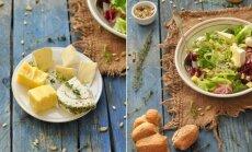 Trijų sūrių salotos