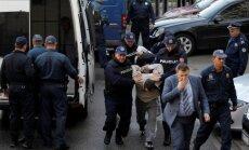 Podgoricoje Juodkalnijos policija sulaikė apie 20 sąmoklsininkų