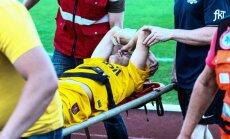Lukas Kochanauskas patyrė traumą/R.Tenio nuotr.