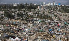 Nuošliauža didžiausiame Etiopijos sąvartyne nusinešė dešimtis gyvybių