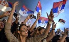 Belgrade – įspūdingos Serbijos rinktinės sutiktuvės