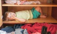 Pasidaryk pats: vaikiška rūbų kabykla