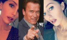 Arnoldo Schwarzeneggerio dukrelė gražėja dienomis (FOTO)