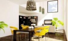 Interjero idėjos: stalas valgomajame