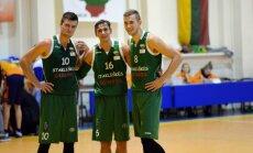Stakliškių krepšininkai