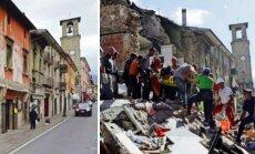 Apokalipsė per akimirką: kaip Italijos miesteliai virto griuvėsių krūva