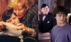 Harry Mellingas ir Danielis Radcliffe'as