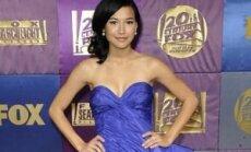 """""""Auksinių gaublių"""" apdovanojimai 2010 m. Naya Rivera"""