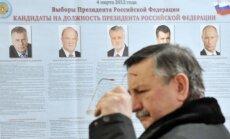 Rusijoje renkamas prezidentas