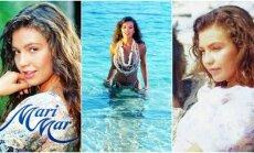 Marimar serialo žvaigždė Thalia