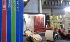 Lietuvos stendas baldų ir dizaino parodoje IFF Singapūre