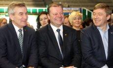 Viktoras Pranskietis, Saulius Skvernelis ir Ramūnas Karbauskis