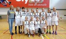 Lietuvos 14-mečių merginų krepšinio rinktinės