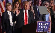 Donaldas Trumpas laimėjo JAV rinkimus