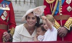 Princas George ir princesė Charlotte Karalienės gimtadienio iškilmėse